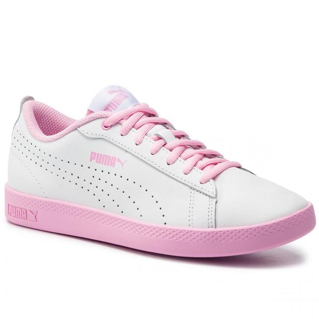 a354dc052 Sneakers PUMA - Smash Wns V2 L Perf 365216 07 Puma White/Pale Pink ...