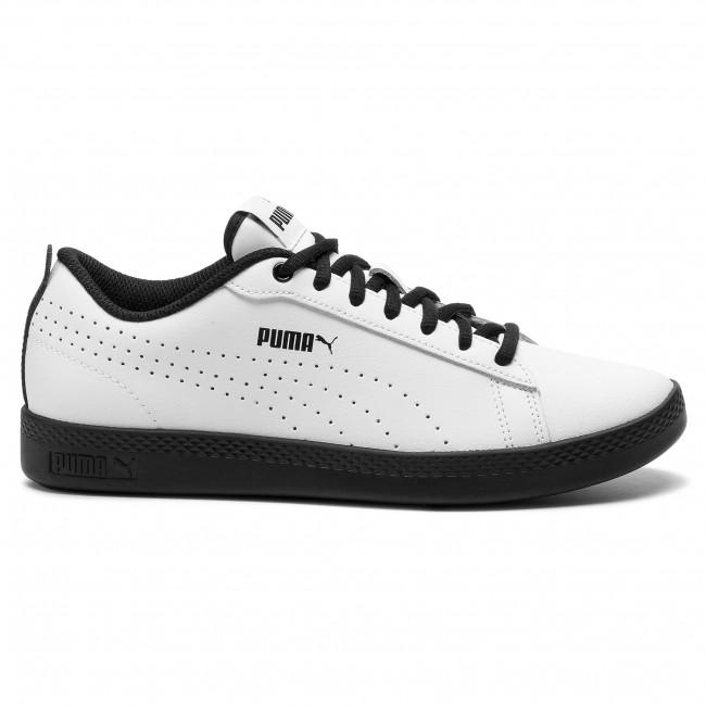 9e82b3c56 Sneakers PUMA - Smash Wns V2 L Perf 365216 08 Puma White/Puma Black ...