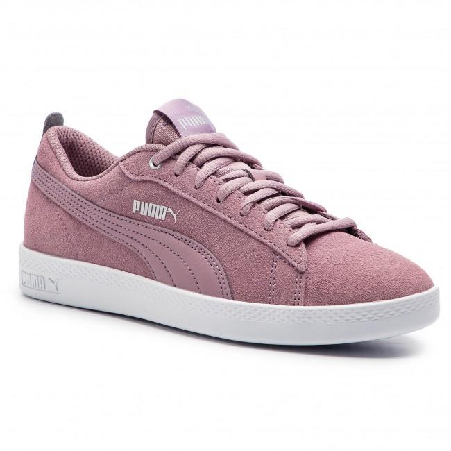 39965e05f95521 Sneakers PUMA - Smash Wns V2 Sd 365313 12 Elderberry Silver Puma White
