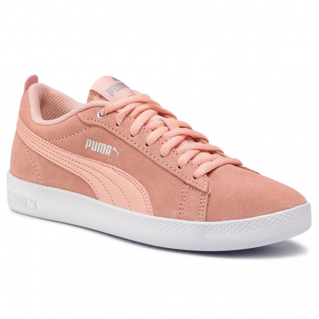 df7c092e8ab940 Sneakers PUMA - Smash Wns V2 Sd 365313 14 Peach Bud Silver Puma White