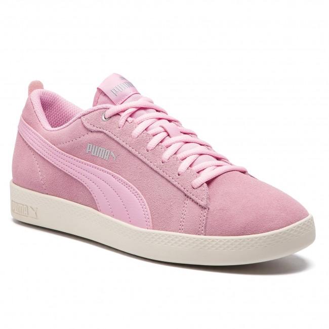 fb3c50fd77b25a Sneakers PUMA - Smash Wns V2 Sd 365313 15 Pale Pink Silver W White ...