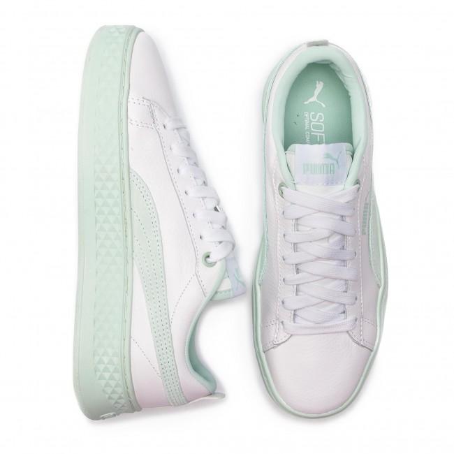 Sneakers PUMA Smash Platform L 366487 07 Puma WhiteFair Aqua