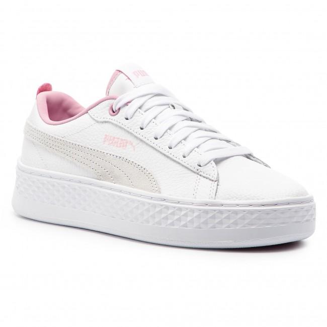 f8768a2ec09c Sneakers PUMA - Smash Platform L 366487 08 Puma White Pale Pink ...