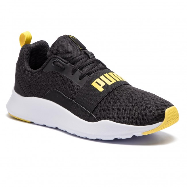 4adc9d29ca3 Sneakers PUMA - Wired 366970 05 Puma Black Blazing Yellow - Sneakers ...