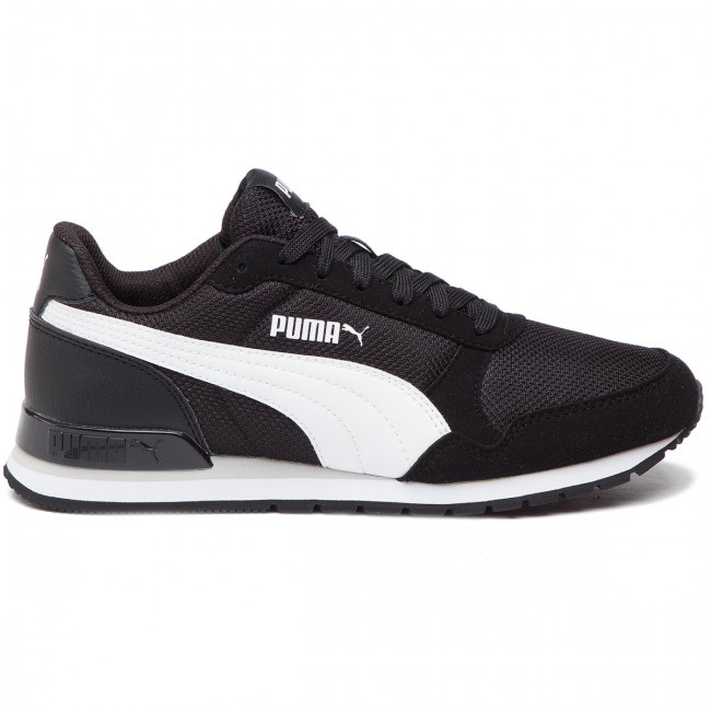 Runner V2 Mesh Jr 367135 06 Puma Black