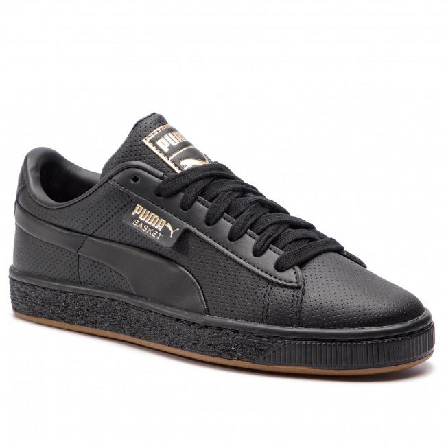1f962a50d8 Sneakers PUMA - Basket Classic Gum Jr 368962 01 Puma Black/Gum ...