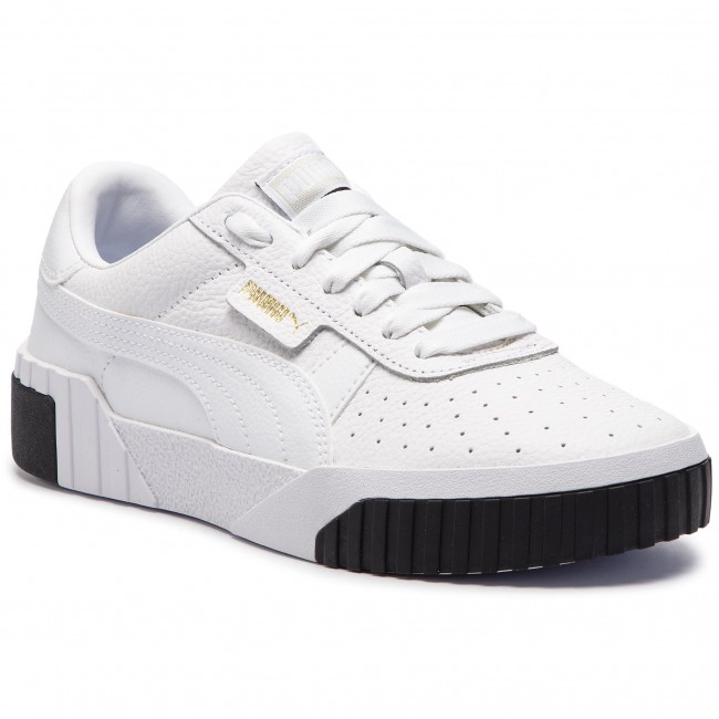 ed7a1773387 Sneakers PUMA - Cali Wn s 369155 04 Puma White Puma Black - Sneakers ...
