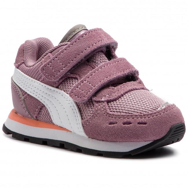 Sneakers PUMA - Vista V Inf 369541 04 Elderberry/Puma White