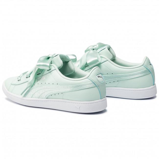 559527de2c9 Sneakers PUMA - Vikky Ribbon L Satin Jr 369542 01 Fair Aqua Fair Aqua