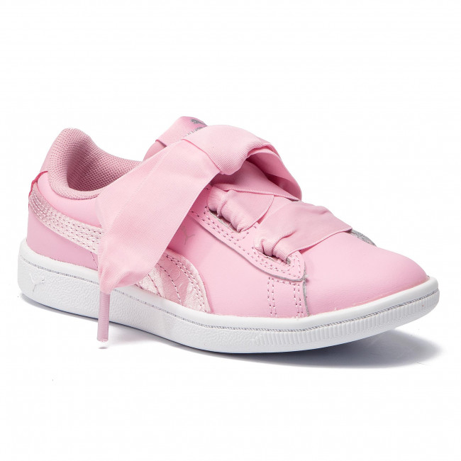 Sneakers PUMA - Vikky Ribbon L Satin Ps 369543 03 Pale Pink Pale Pink 0a6ad015a