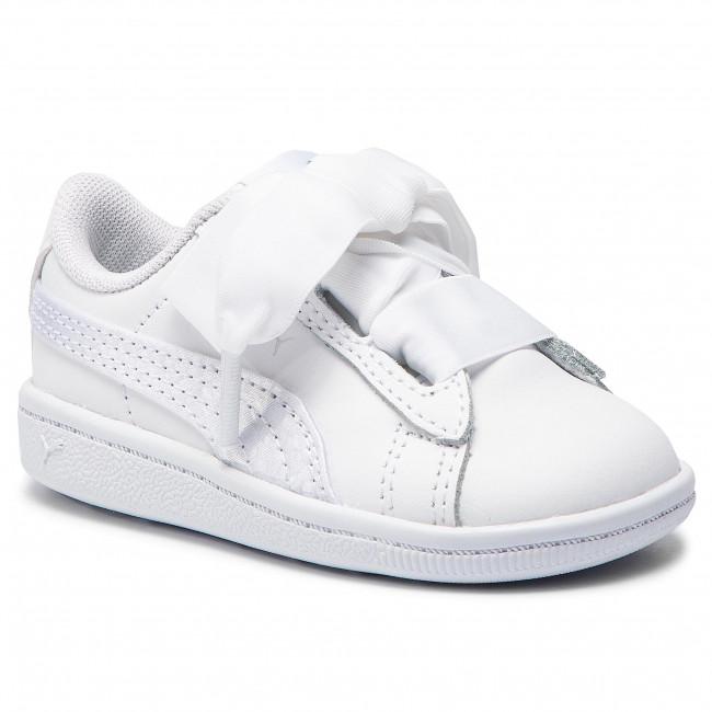 c13c4fee393 Sneakers PUMA - Vikky Ribbon L Satinlnf 369544 02 Puma White Puma White