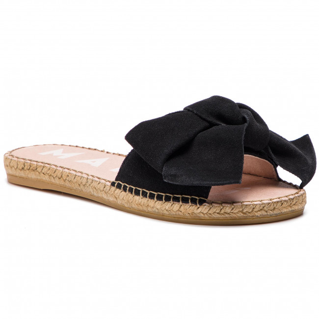 e463bcfa409 Espadrilles MANEBI - Sandals With Bow K 1.0 J0 Black Suede ...