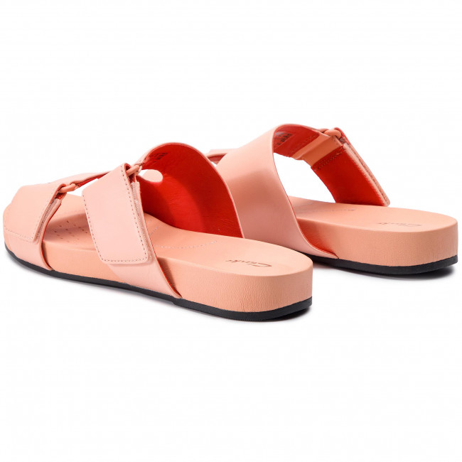 Slides CLARKS - Bright Deja 261400934 Light Pink - Casual mules ... 7feb3444005