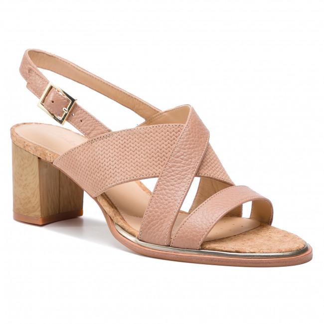 38bd1ff852e5 Sandals CLARKS - Ellis Tilda 261393184 Praline Leather - Casual ...