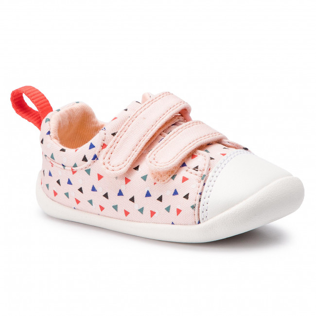 f09c244bd3761 Shoes CLARKS - Roamer Craft T 261422886 Pink Combi - Velcro - Low ...