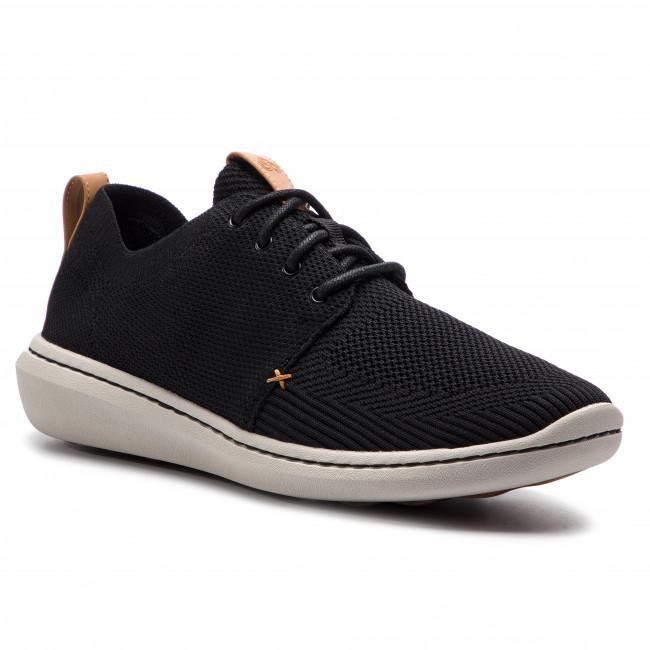 Sneakers CLARKS - Step Urban Mix 261381787 Black - Sneakers - Low ... 8ddcf0739