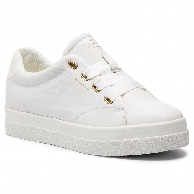 86742713858dc6 Sneakers GANT - Aurora 18531433 Bright White G290 - Sneakers - Low ...