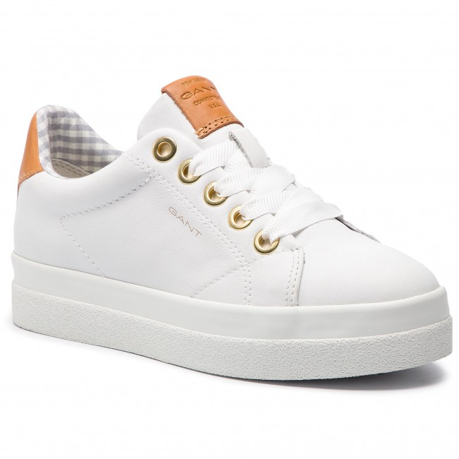 9dc424831ab6d5 Sneakers GANT - Aurora 18531436 Bright White G290 - Sneakers - Low ...