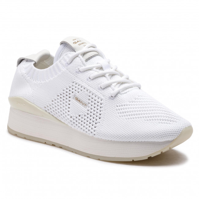 1b56dd75d3 Sneakers GANT - Linda 18538352 White G29 - Sneakers - Low shoes ...