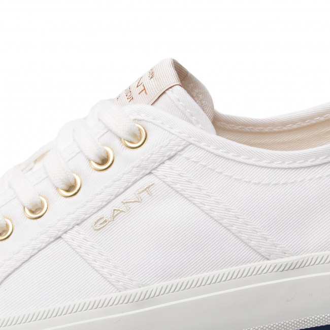 reduzierungen  Gant Baltimore sneakers leather br.wht.//rose gold 18531452