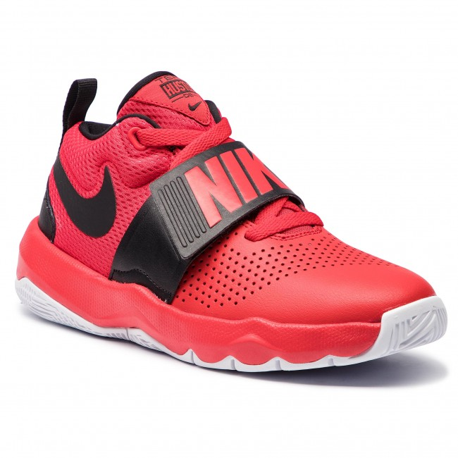 check out 6d82b 0db32 Shoes NIKE. Team Hustle D 8 (GS) 881941 602 University Red Black White