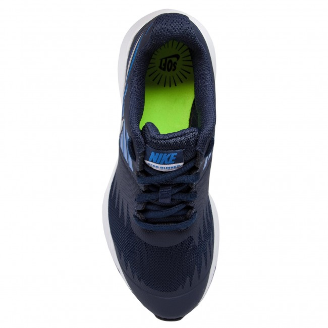 85e238bd89 Shoes NIKE - Star Runner (GS) 907254 406 Obsidian Metakkic Silver - Indoor  - Running shoes - Sports shoes - Women s shoes - www.efootwear.eu