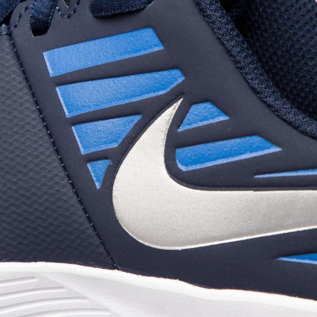 a0567d15636 Shoes NIKE - Star Runner (GS) 907254 406 Obsidian Metakkic Silver ...