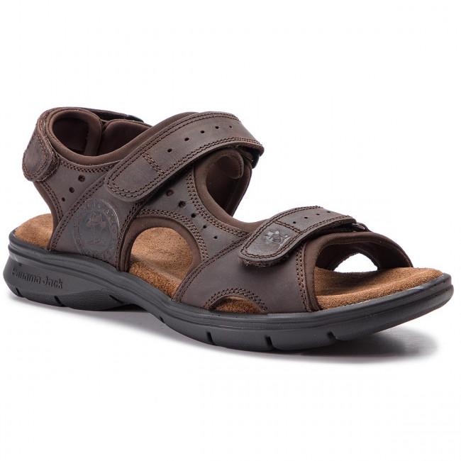 049c5c23ad243e Sandals PANAMA JACK - Salton Basics C1 Napa Grass Marron Brown ...