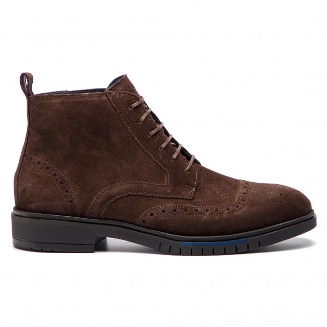bf3f26cbe Boots TOMMY HILFIGER - Flexible Dressy Brogue Boot FM0FM01993 Coffee Bean  212