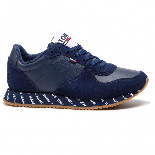 TOMMY 431 EN0EN00394 JEANS Sneakers Iris Casual Sneaker Black AxBnSndqpw