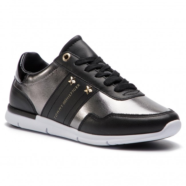 2bcf3da38 Sneakers TOMMY HILFIGER - Tommy Essential Leather Sneaker FW0FW03688 ...