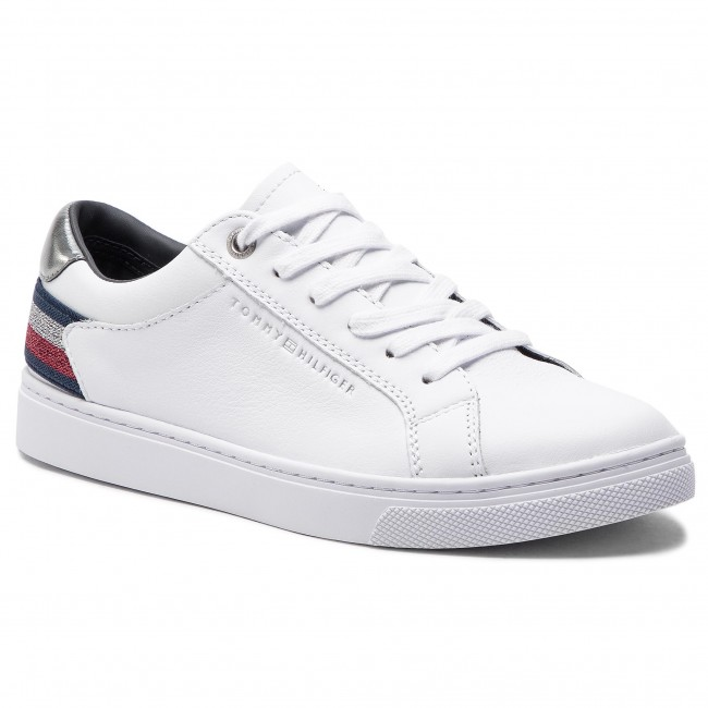 576322cd81542 Sneakers TOMMY HILFIGER - Essential Sneaker FW0FW03710 White 100 ...