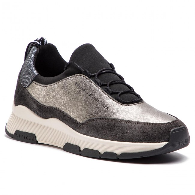 d3d7849e9 Sneakers TOMMY HILFIGER - Cool Leather Debossed Sneaker FW0FW04028 ...