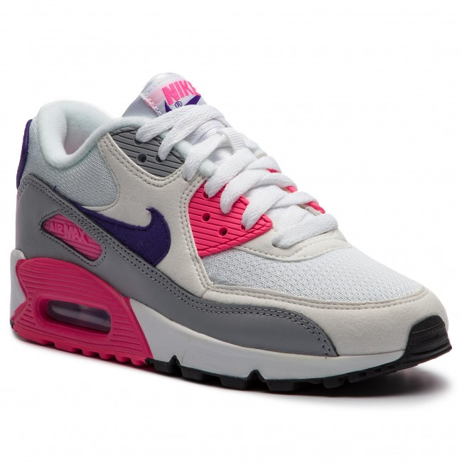 29a3c2363a95c Shoes NIKE - Air Max 90 325213 136 White/Court Purple/Wolf Grey ...