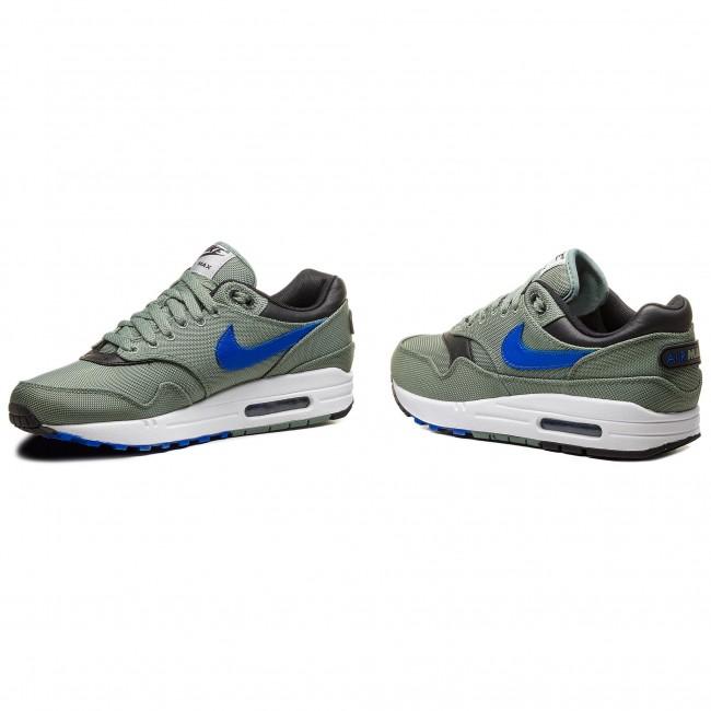 official photos 28b46 7132a Shoes NIKE - Air Max 1 Premium 875844 300 Clay Green Hyper Royal White