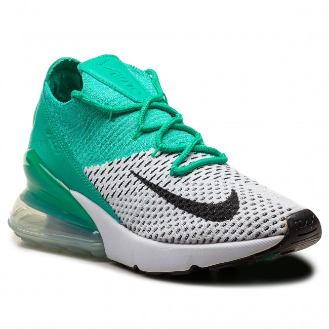the latest 550aa 1e6d0 Shoes NIKE - Air Max 270 Flyknit AH6803 300 Clear Emerald/Black ...