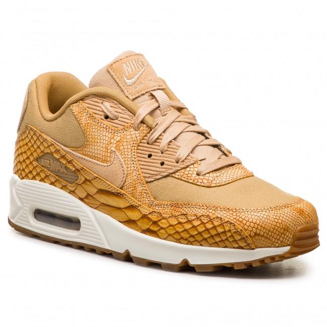 on sale a414f 639d2 ... shop shoes nike air max 90 premium ltr ah8046 200 vachetta tan vachetta  tan 2f7b8 0402a
