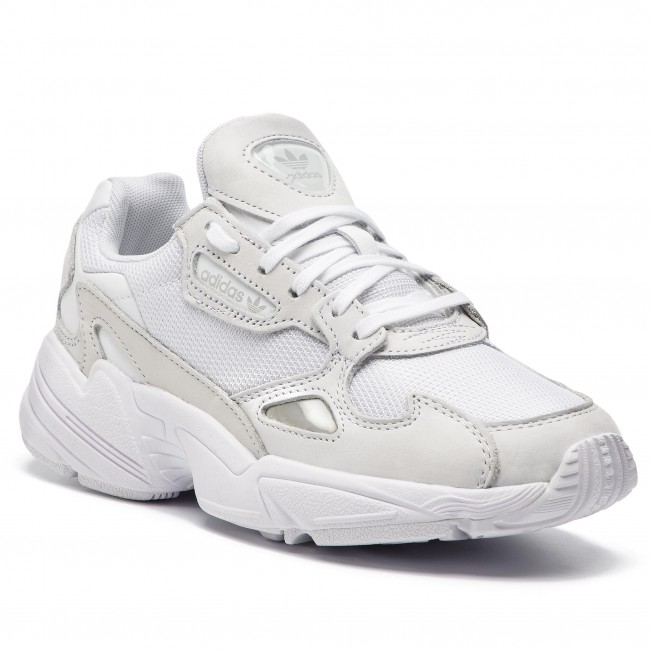 Shoes adidas - Falcon W B28128 Ftwwht Ftwwht Crywht - Sneakers - Low ... ccba31fe8e