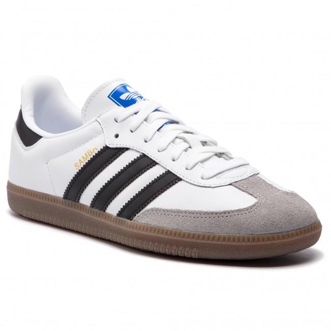 5a52cadd86503 Shoes adidas - Samba Og B75806 Ftwwht Cblack Cgrani - Sneakers - Low ...