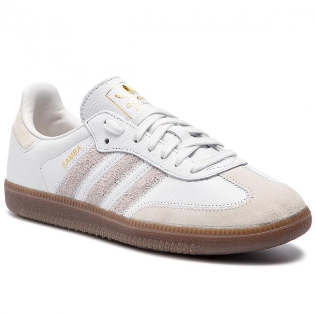 9179b7bafff13 Shoes adidas - Samba Og Ft BD7527 Crywht Rawwht Goldmt - Sneakers ...