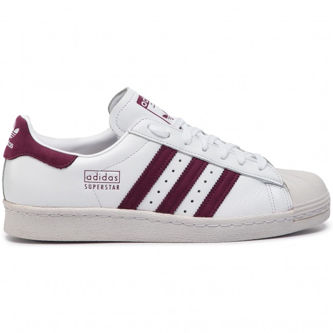 3b796be0ba Shoes adidas - Superstar 80s CM8439 Ftwwht/Maroon/Crywht - Sneakers ...