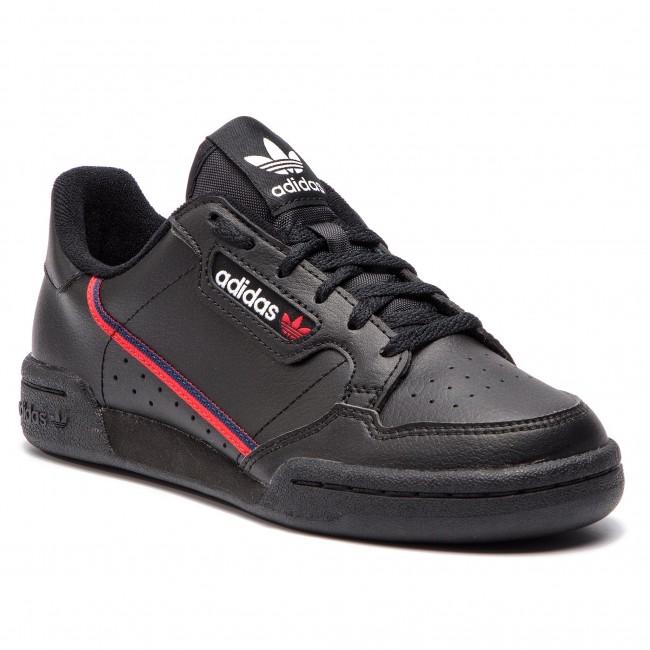 6526cbac7 Shoes adidas - Continental 80 J F99786 Cblack Scarle Conavy ...