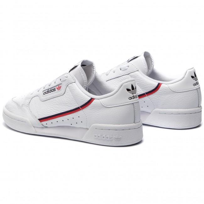 Chaussures adidas Continental 80 G27706 FtwwhtScarleConavy