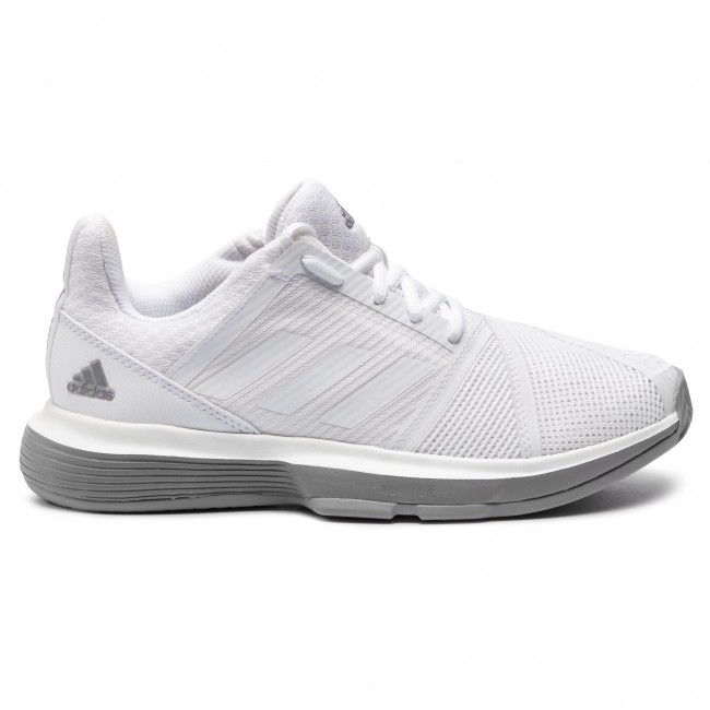 Vergonzoso lana Perforación  Shoes adidas - CourtJam Bounce W CG6354 Ftwwht/Ftwwht/Lgrani - Tennis -  Sports shoes - Women's shoes | efootwear.eu