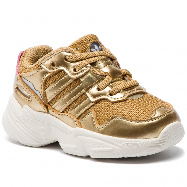 60fb4c13bd5da Shoes adidas - Yung-96 El I DB3499 Goldmt Goldmt Owhite - Laced ...