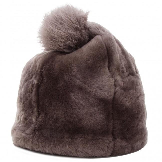 5dacc5ff88aeb Cap UGG - W Solid Sheepskin Beanie 17383 Stormy Grey - Women s ...