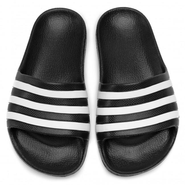 buy popular d03ff cbe4d Slides adidas - adilette Aqua K F35556 CblackFtwwhtCblack - Casual mules  - Mules - Mules and sandals - Womens shoes - www.efootwear.eu