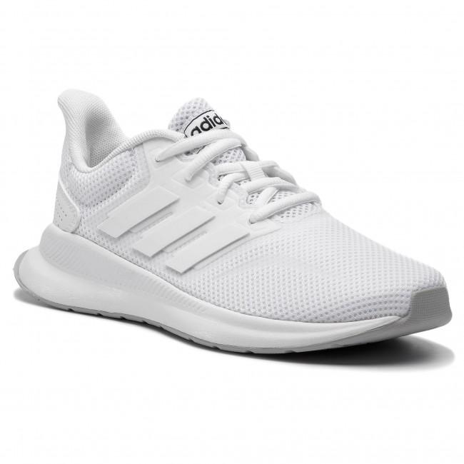 quality design a03f1 9129c Shoes adidas - Runfalcon K F36548 FtwwhtFtwwhtGretwo - Indoo