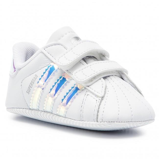160a3f5cae6 Shoes adidas - Superstar Crib BD8000 Ftwwht Ftwwht Cblack - Velcro ...