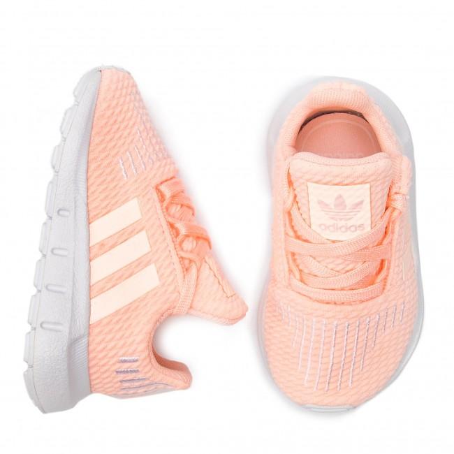 551c1e1fa3615 Shoes adidas - Swift Run I CG6924 Cleora Whiteb Ftwwht - Laced shoes - Low  shoes - Girl - Kids  shoes - www.efootwear.eu